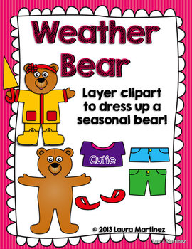 By teacher laura teachers. Bear clipart weather
