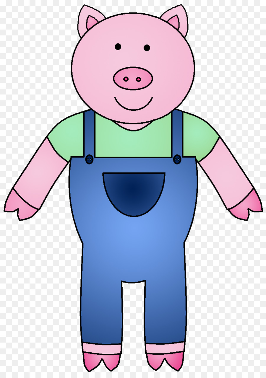 Piglet big bad the. Bear clipart wolf