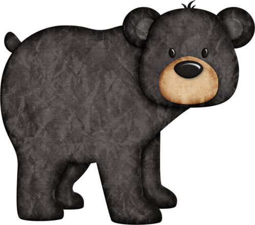 Station . Woodland clipart bear