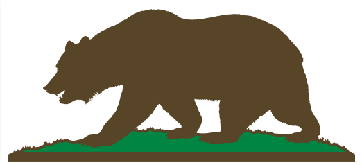 Cabin in the free. Bear clipart woods