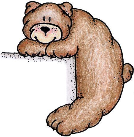 best animal backwood. Bear clipart woods