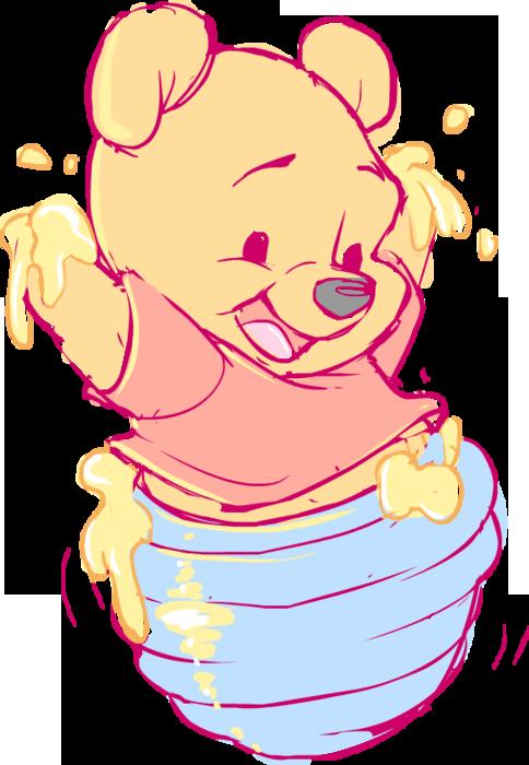 Disney babies baby pooh. Shy clipart piglet