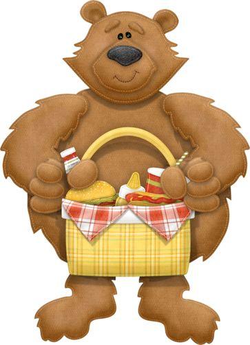 best clip art. Bear clipart woods