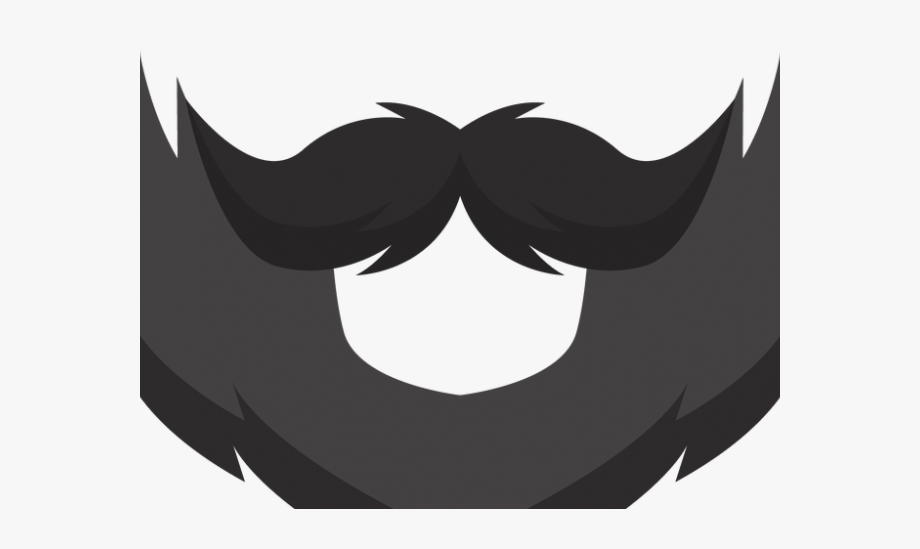 Beard clipart. Stock transparent background clip