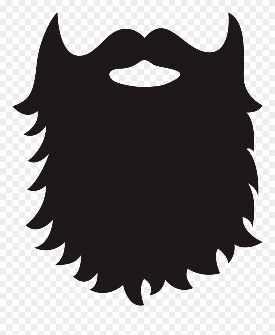 Beard clipart. Full clip art png
