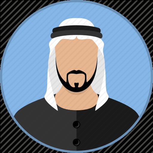 Beard clipart arabic. Avatars by nikita landin