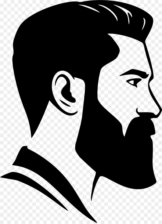 Royalty free clip art. Beard clipart beard face