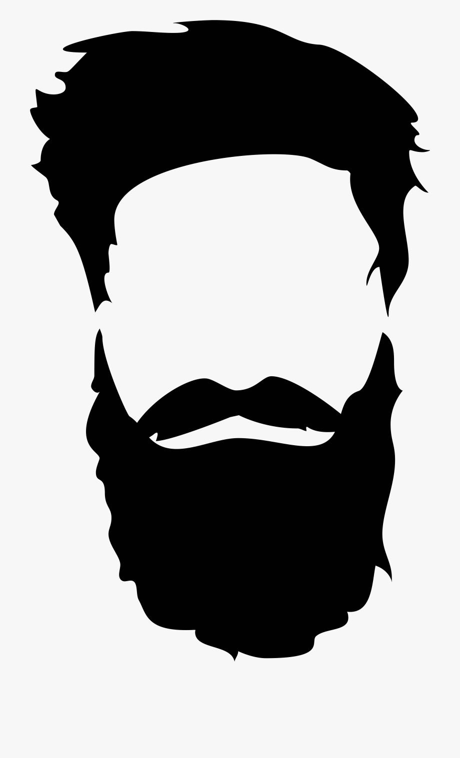 Bread and mustache png. Beard clipart beard face