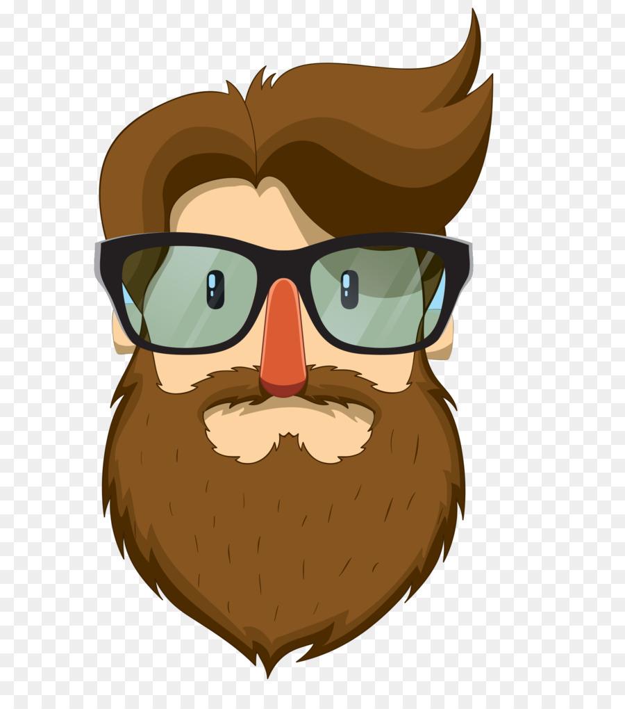 Moustache clip art with. Beard clipart bearded man
