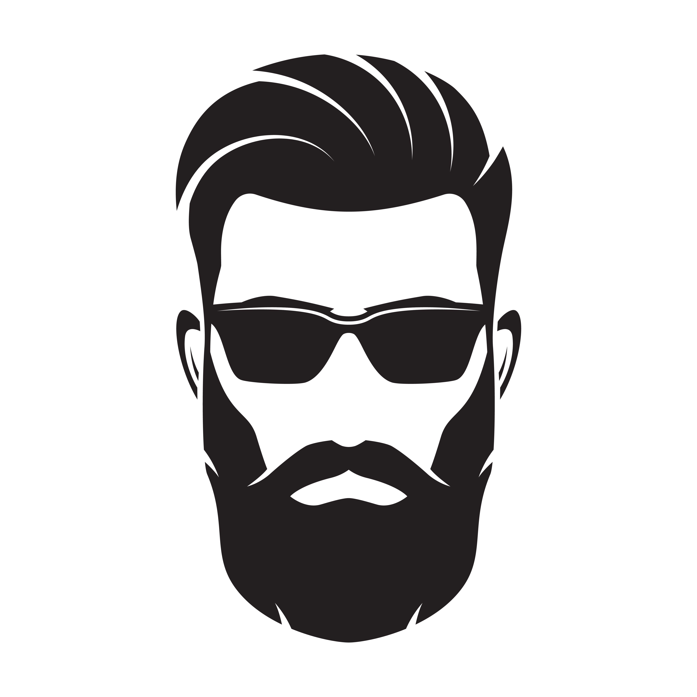 Pin by shears shaves. Beard clipart bearded man