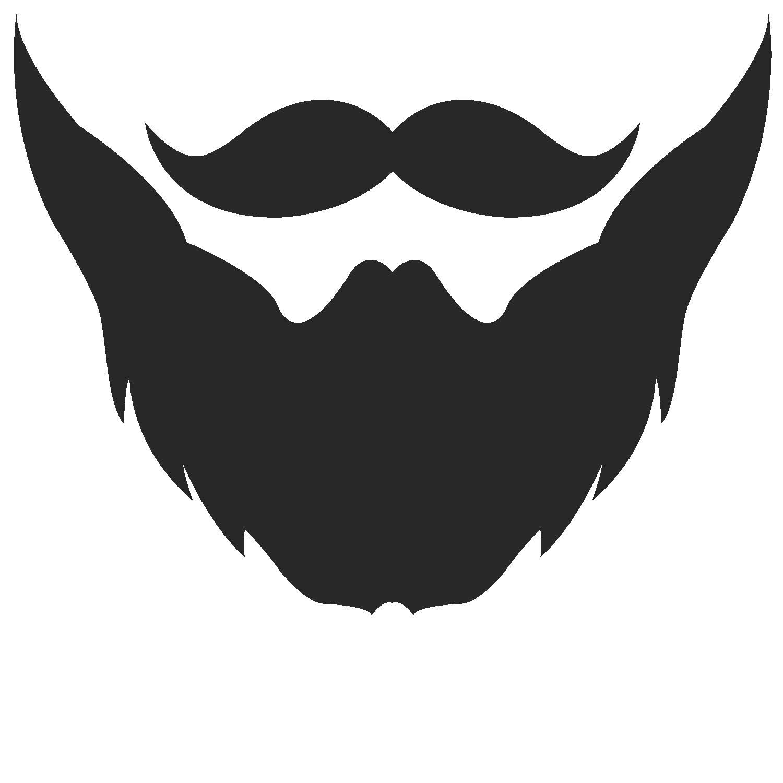 Beard clipart bearded man. Logo moustache clip art