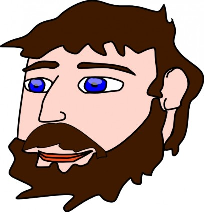 Beard clipart beared.  collection of bearded