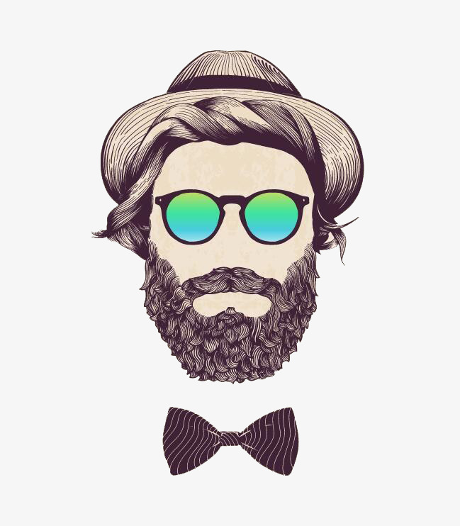 Bearded man image the. Beard clipart beared