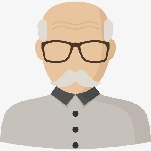 Beard clipart beared. Bearded grandfather the old