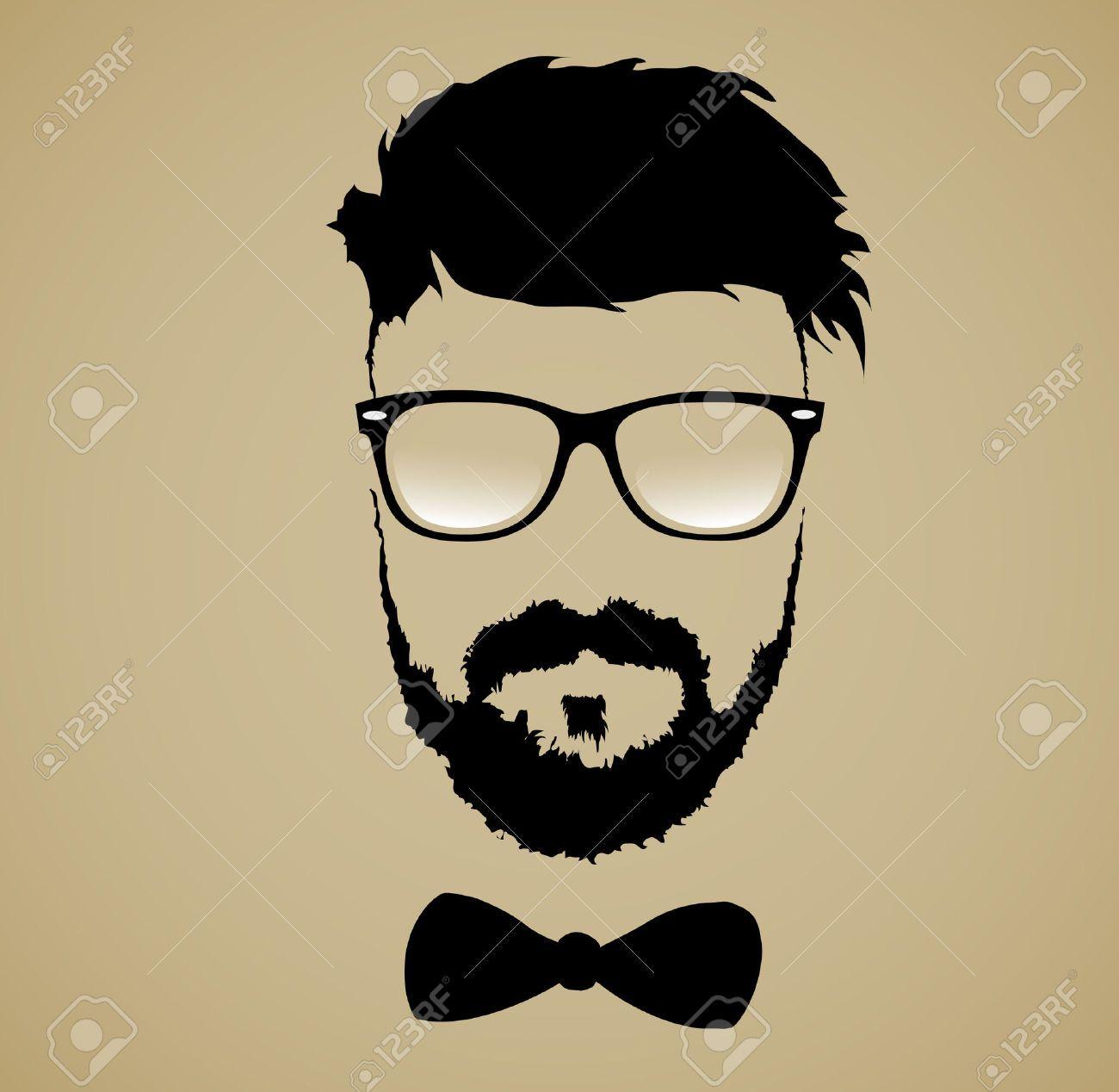 Beard clipart big beard. Mustache glasses hairstyle royalty