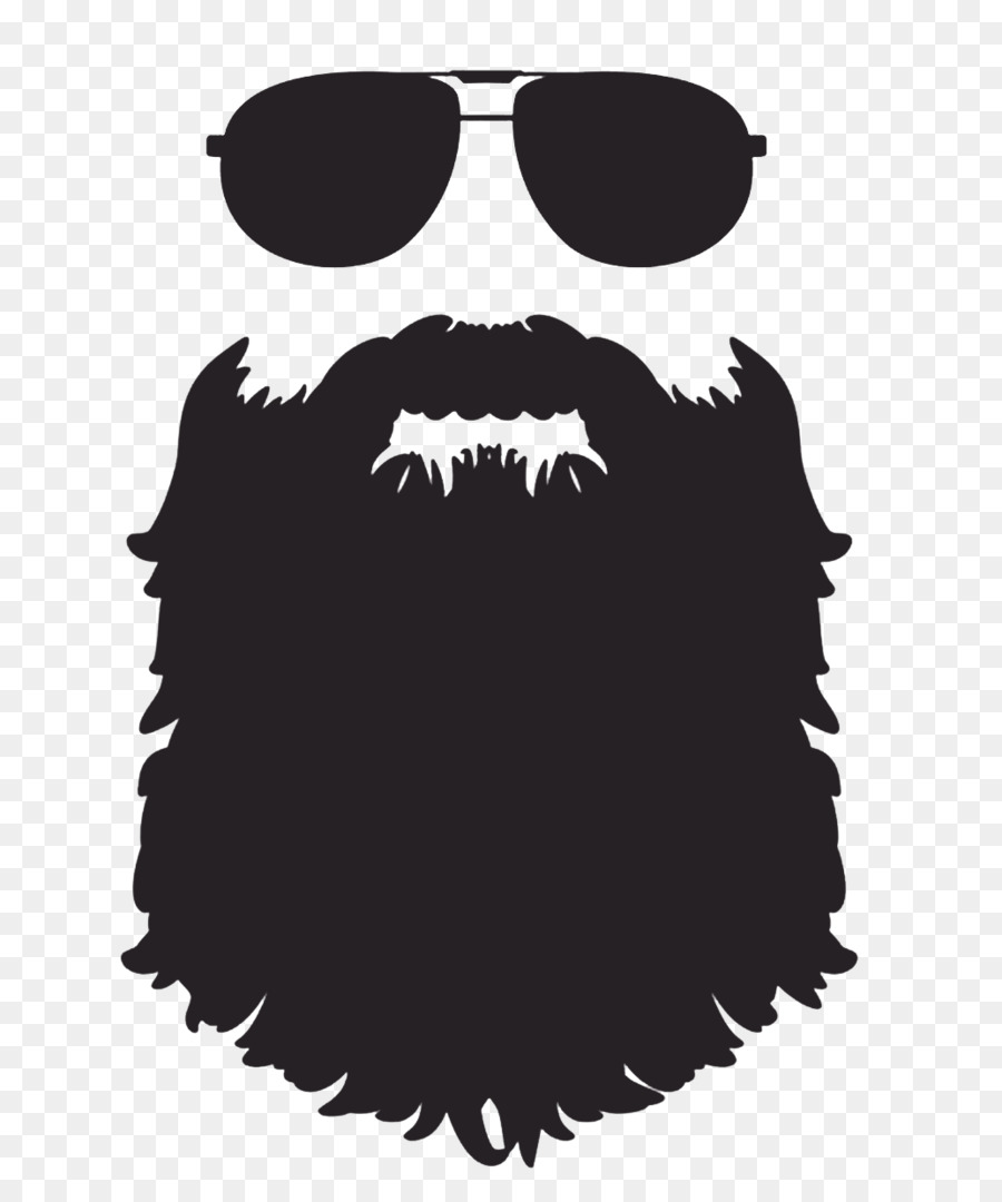 Beard clipart black and white. Silhouette clip art png