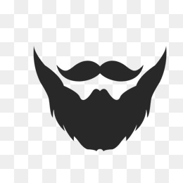 Beard clipart black and white. Png images vectors psd