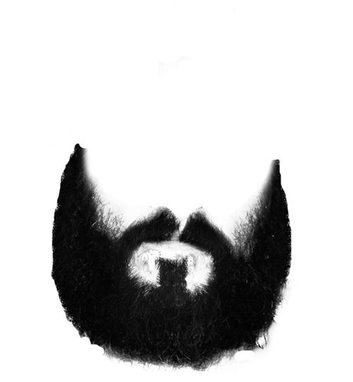 Clip art png mart. Beard clipart black and white