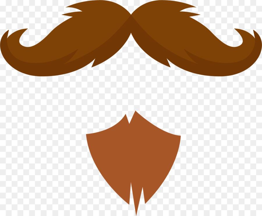 Moustache computer icons clip. Beard clipart brown beard
