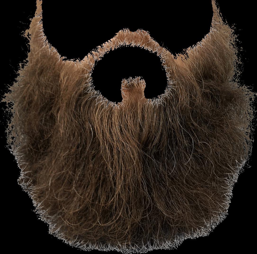 Brown beard transparent png. Clipart mustache hipster