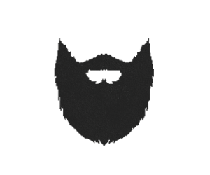 Beard clipart brown beard. And moustache icon web