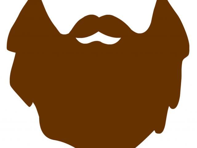 Beard clipart brown beard. Free download clip art