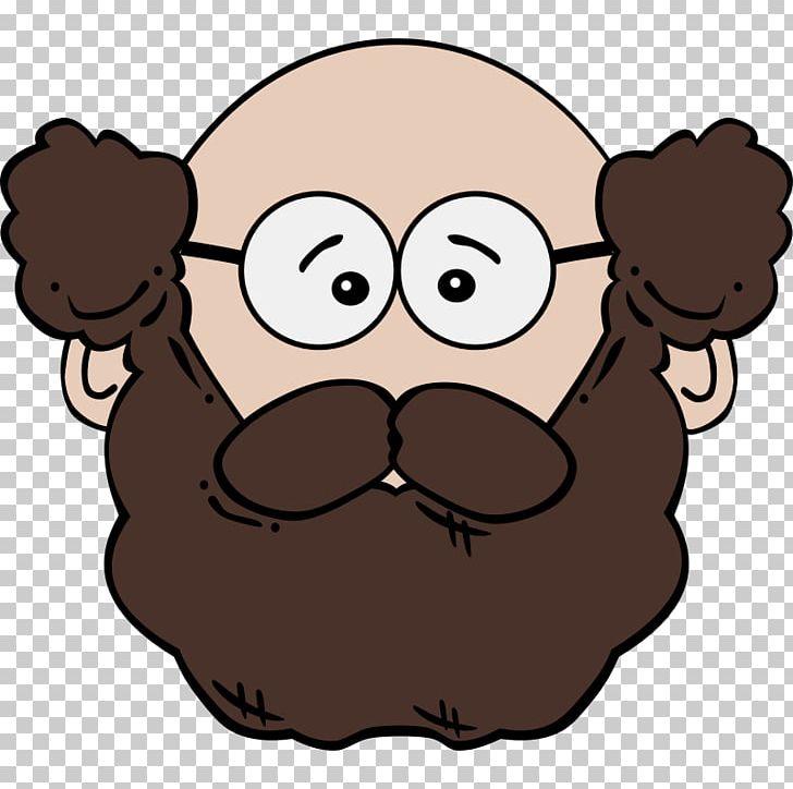Beard clipart cartoon. Man png animation