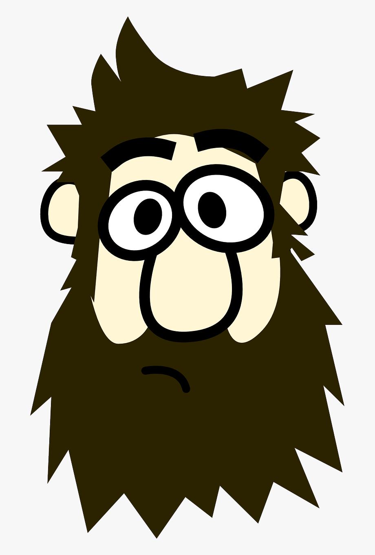 Beard clipart cartoon. Hd image man with