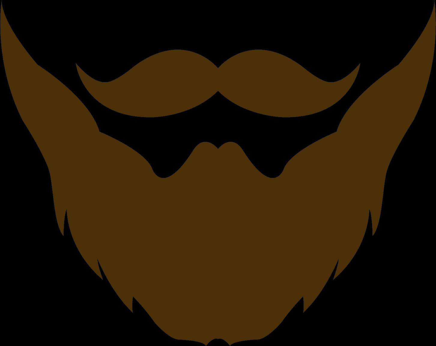 Beard clipart clip art. Mustache and goatee png
