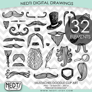 Printable milk box template. Beard clipart doodle