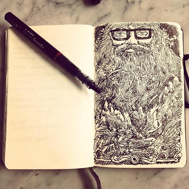 Beard clipart doodle.  best images on