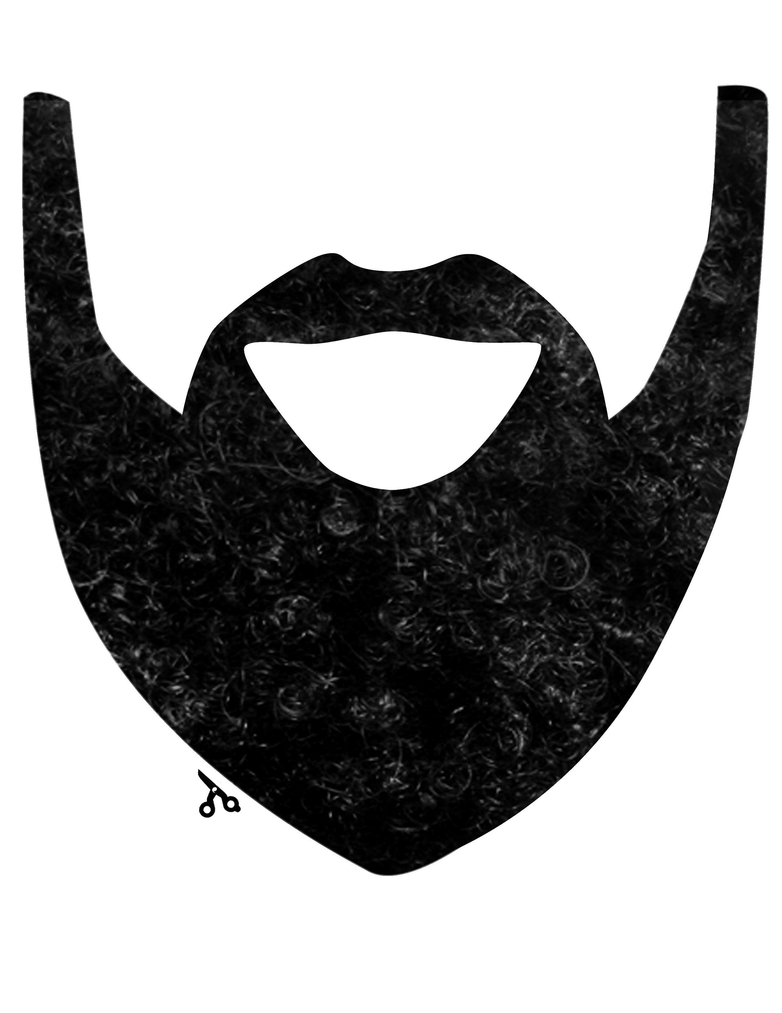 Beard clipart duck dynasty beard. Cut out pattern calleigh