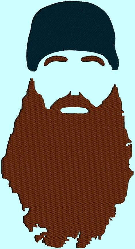 Beard clipart duck dynasty beard. Template birthdays party