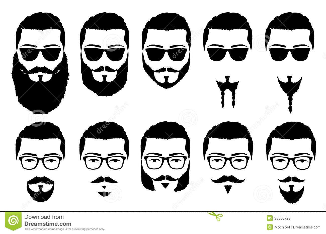 Beard clipart duck dynasty beard. Beards cliparts and mustaches