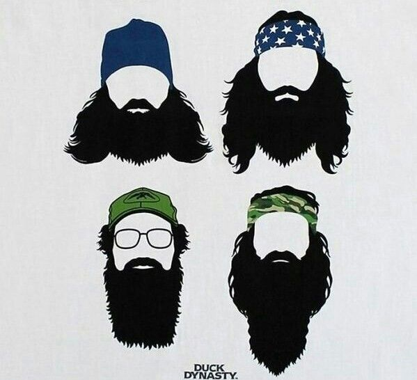 awesome silhouette images. Beard clipart duck dynasty beard