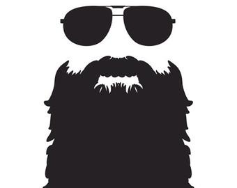 Beard clipart duck dynasty beard. Clip art library