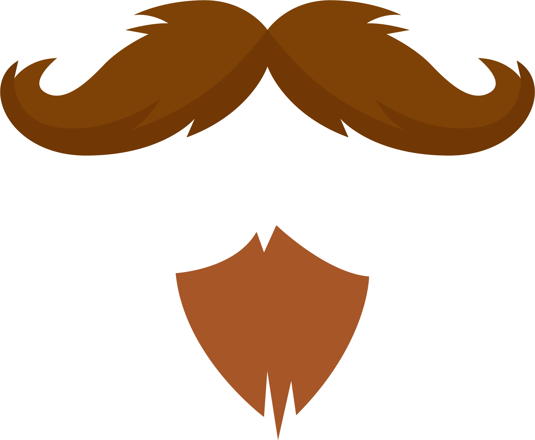 Beard transparent png pictures. Moustache clipart fu manchu