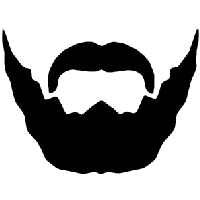 Beard clipart editing. Download free png photo