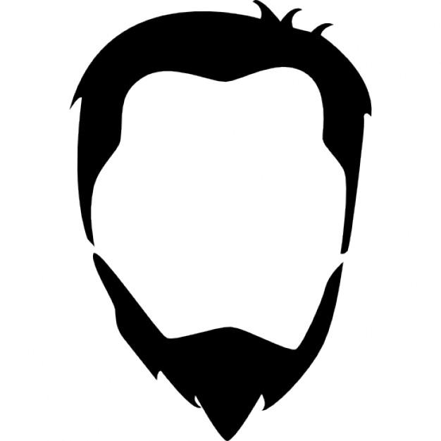 Beard clipart editing. Silhouette free at getdrawings