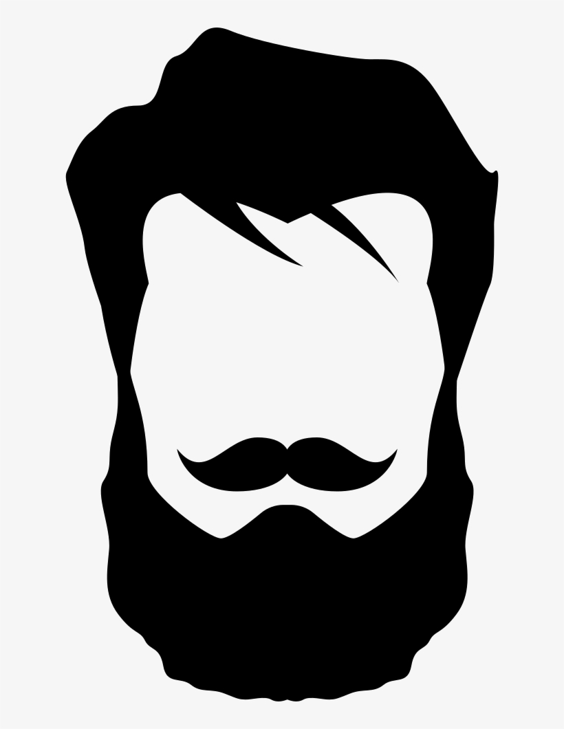 Icon png free transparent. Beard clipart editing