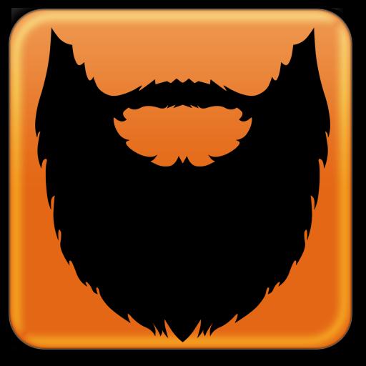 Photo editor free apps. Beard clipart editing