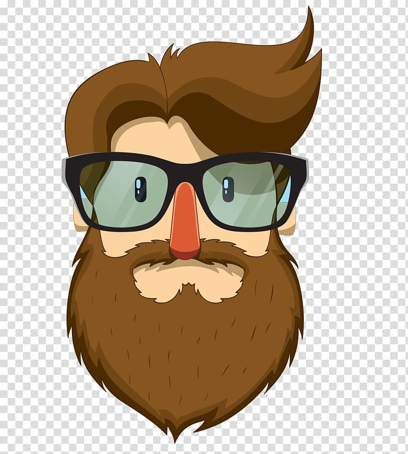 Man with and moustache. Sunglasses clipart beard boy