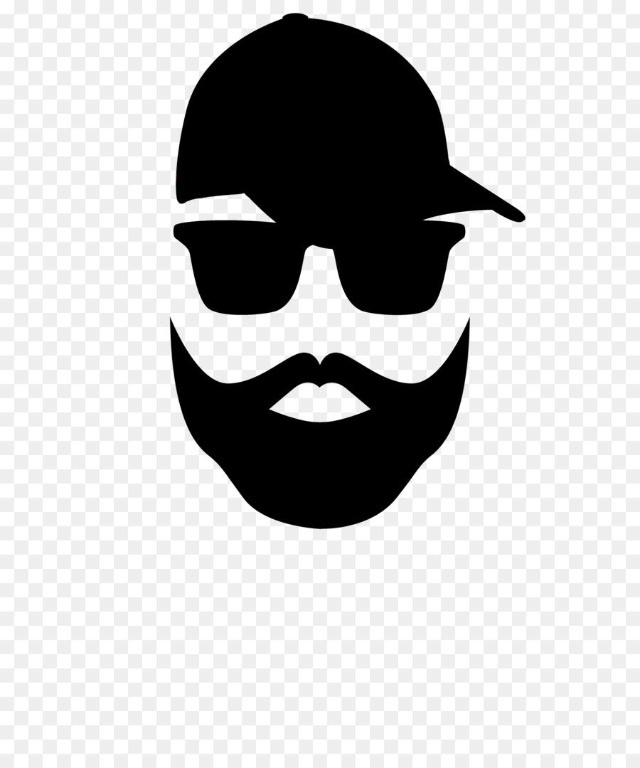 Logo . Beard clipart eyeglasses