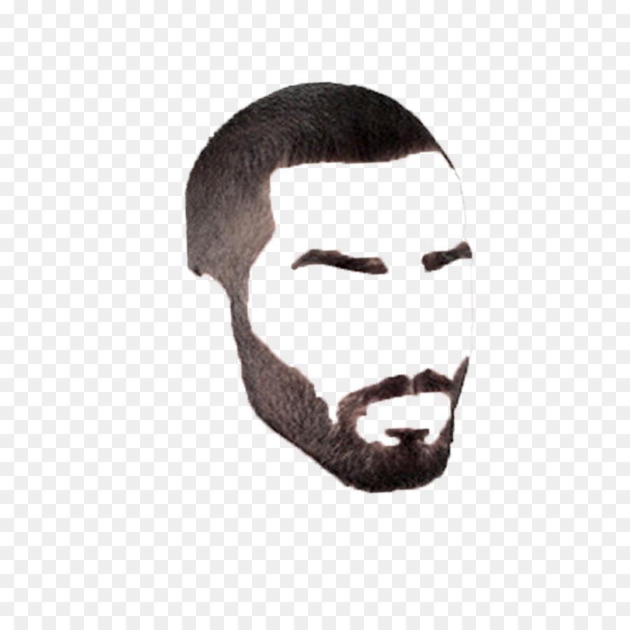 Moustache cartoon man transparent. Beard clipart facial hair