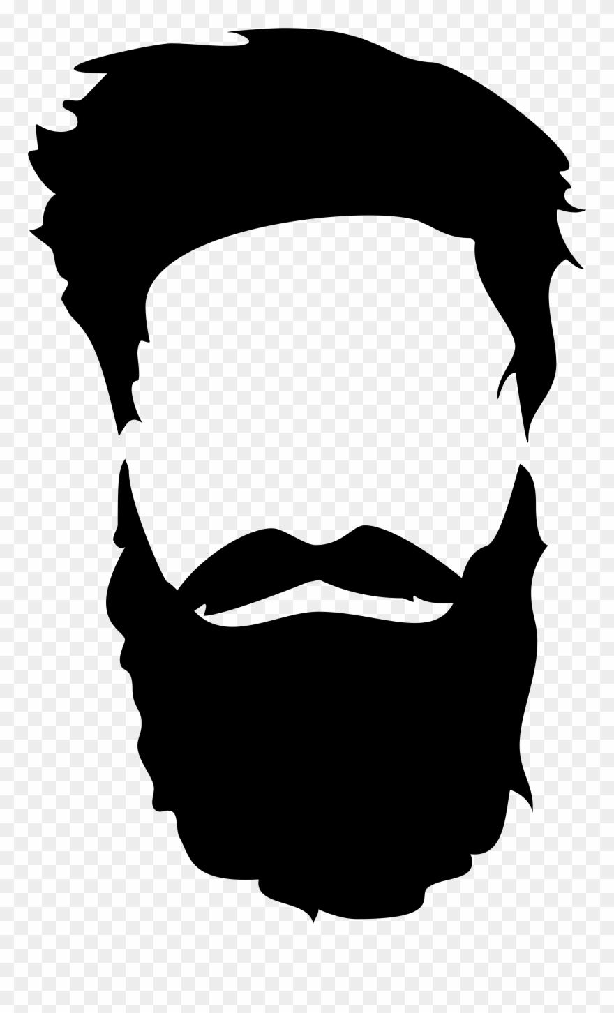 Hair png clip art. Moustache clipart short beard