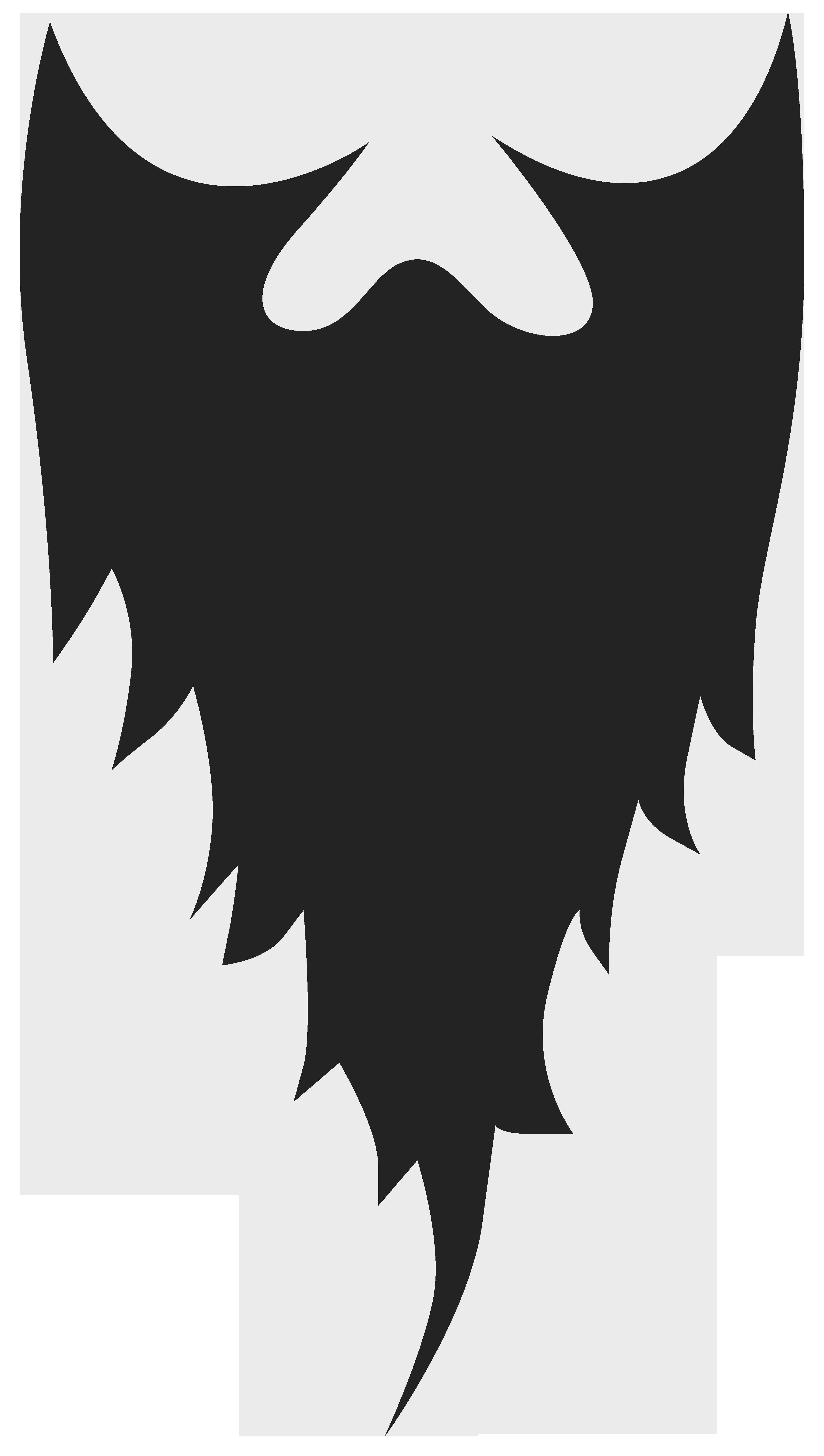 Unique design digital collection. Beard clipart full beard