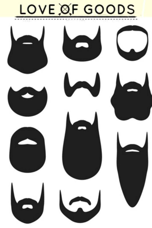 My outfit loveofgoods pinterest. Beard clipart hipster beard