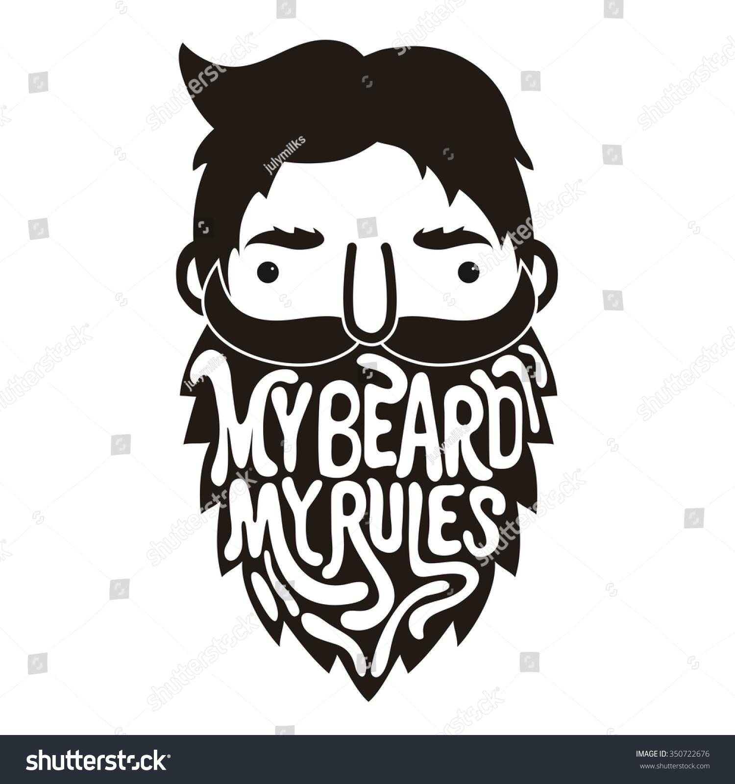Beard clipart hipster beard. X free clip art