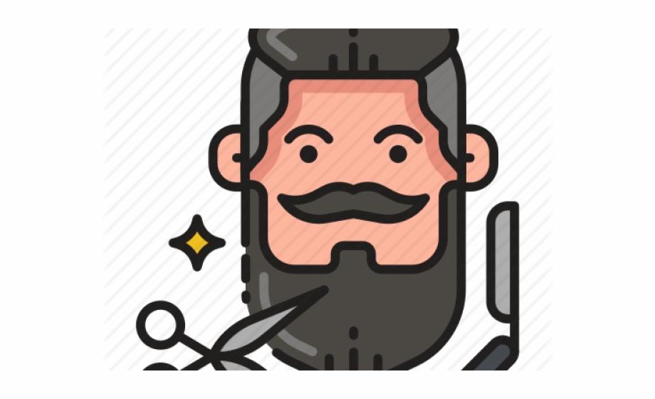Barberia png transparent . Beard clipart hipster beard