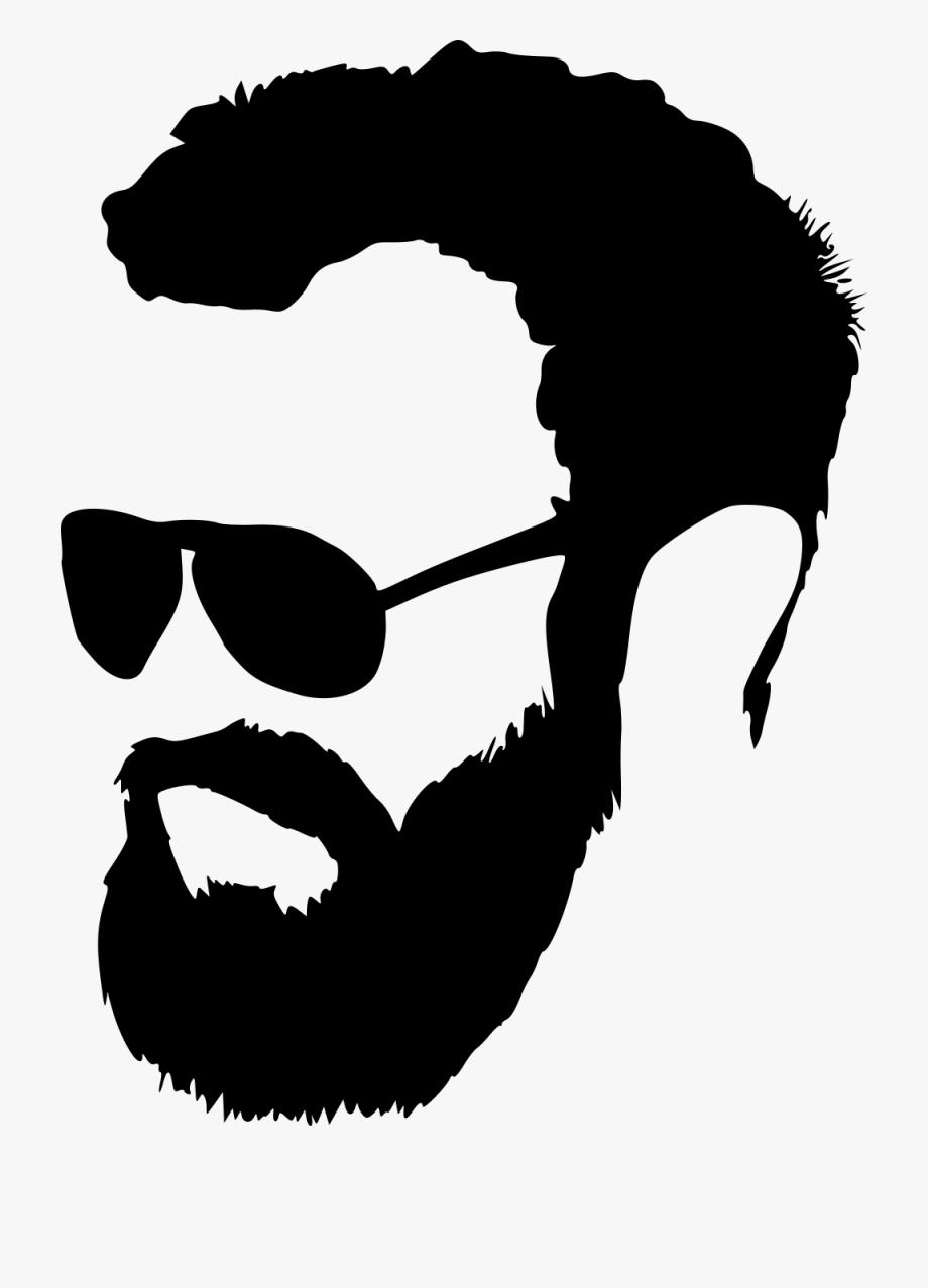 Men png free . Beard clipart hipster beard